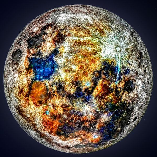 Minerals of Our Moon