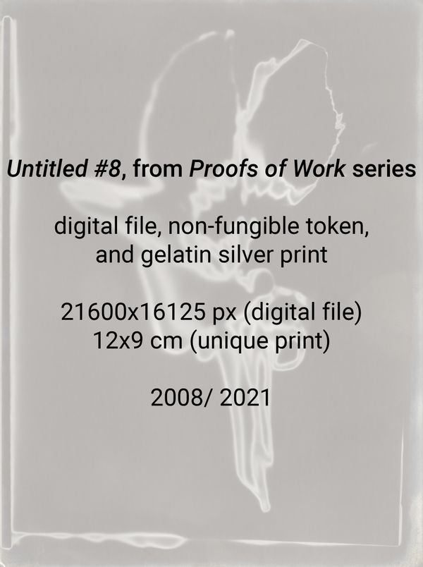 """""""Untitled #8"""", from """"Proofs of Work"""" series (2008/ 2021)"""